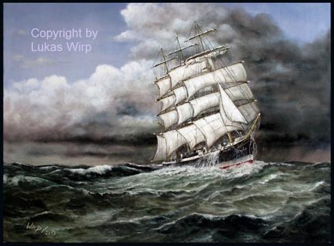 Großsegler Passat Lukas Wirp Pamir P-Liner Marinebild Schiffsbild