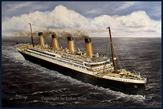 Passagierschiff, RMS Titanic, Eisberg, Bilder, Marinebilder, Poster