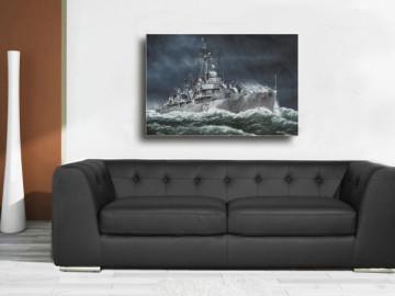 Fletcher Z Marine Schiffsbilder Poster Leinwand Bild