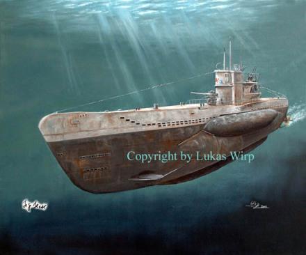 German U-Boat U-Boot VII C Marinebild Lukas Wirp