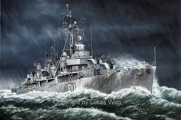 Deutsche Bundesmarine Zerstörer Z1 Z2 Z3 Z4 Z5 Z6 Marine Bild
