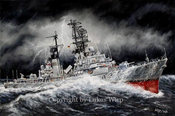 Deutsche Marine Bundesmarine Schiffsbilder fotos Poster