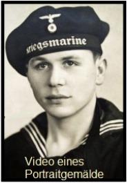 Kriegsmarine Soldaten Portrait WK2