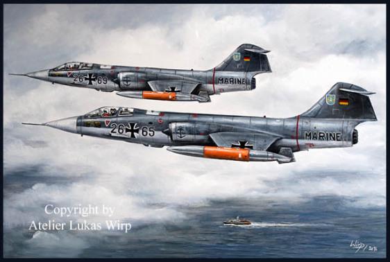Bundeswehr , Starfighter , Deutsche , Marine, MFG , Lukas Wirp , Druck , Poster , Kunst