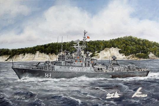 DDR, Marine , Bilder , NVA , Volksmarine , Küstenschutzschiff , 142 , 141, Rostock