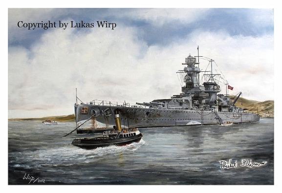 Kriegsmarine Montevideo Panzerschiff Graf Spee Lukas wirp