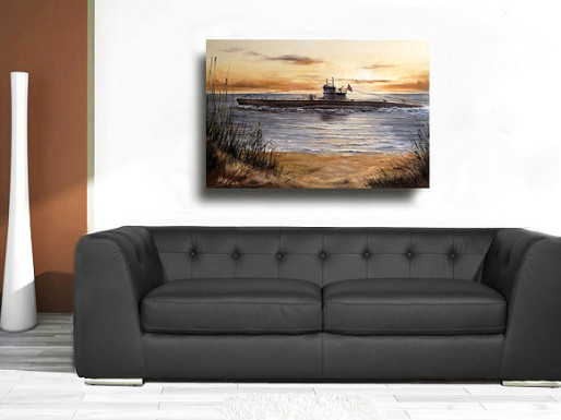 Maritime Bilder Gemälde Leinwand Reproduktionen Lukas Wirp Künstler