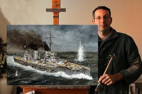 Kaiserliche, Marine, 1. Weltkrieg, Schiff, Bild, Kreuzer, Lukas Wirp
