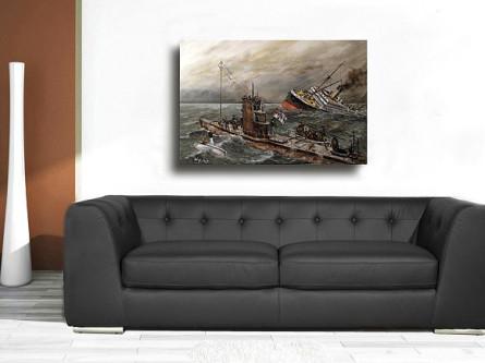 U-Boot, 1. weltkrieg, kaiserliche Marine, Deutsche, Marine, Bild, Poster