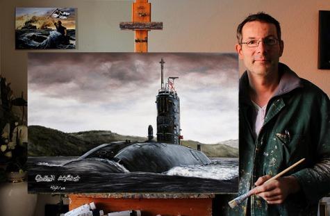 Marine, Gemälde, Poster, Bilder, Royal Navy