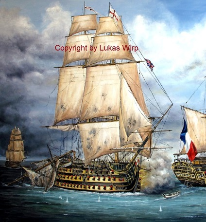 Royal Navy poster pictures, Navy painter Lukas Wirp