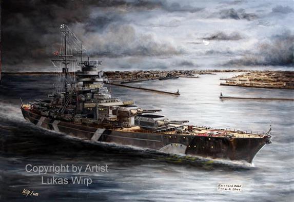 Kriegsmarine, Gemälde, Bilder, Poster, Fotos, Lukas wirp