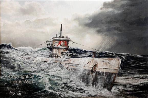 Marine, U-Boote, Kriegsmarine, Bilder, Erich Topp
