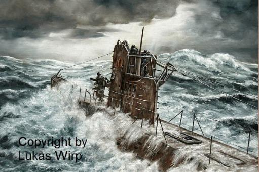 U-Boot, Atlantik, Bilder, Torpedo, Sturm, Marine
