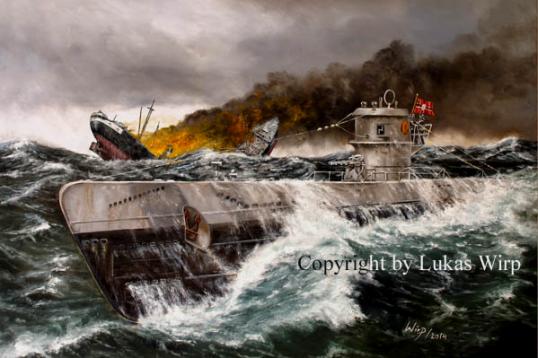 U-Boot Waffe, Torpedo, sinking, Atlantik, VII C