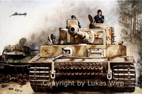 Panzer, 2. Weltkrieg, Bilder, Lukas Wirp