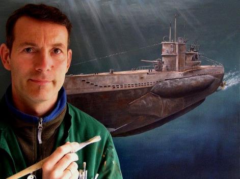Marinemaler, Lukas Wirp