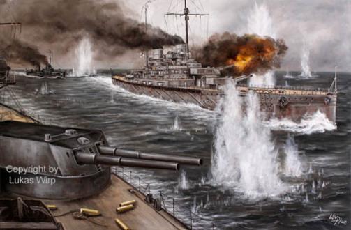 Marine - Bilder , 1. Weltkrieg