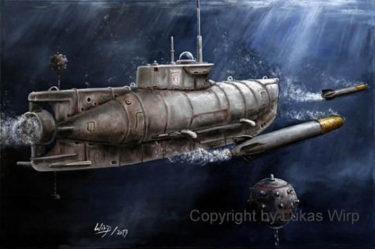 U-Boot, 2. Weltkrieg, Tauchfahrt