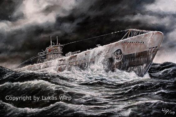 Deutsches U-Boot. U-Boot Waffe, Ritterkreuz