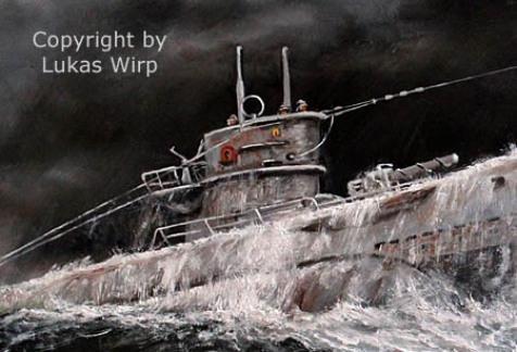 U-Boot Turm, Ausguck, Ölzeug, Mailing