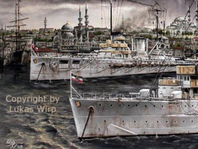 kaiserliche Marine, Istanbul, Türkei, 1. Weltkrieg