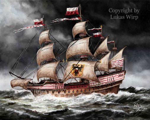 Kriegsschiff, 1566, Lübeck, Marine, Bilder, Lukas Wirp