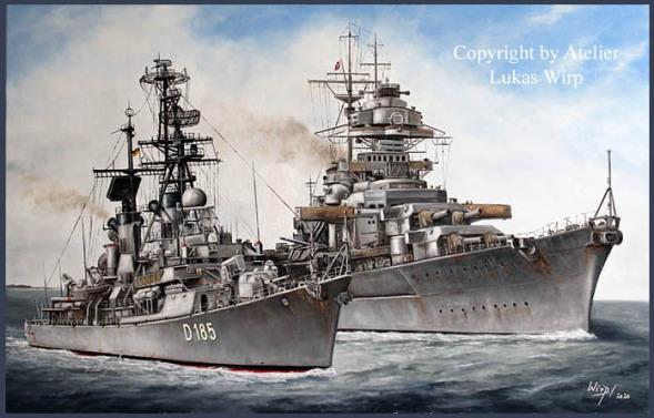 Schlachtschiff Bismarck, Kriegsmarine, Marine, Bundeswehr