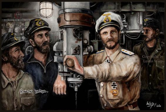 Kriegsmarine, Ritterkreuz, U-Boot, Kaleu
