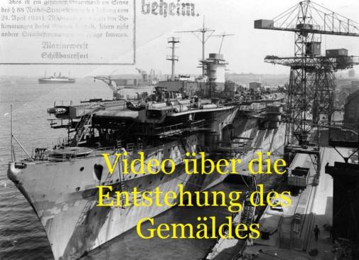 Graf Zeppelin, Werft, Kiel