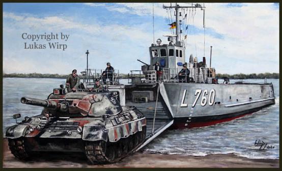 Marine, bundesmarine, Landungsboot, Typ 5200