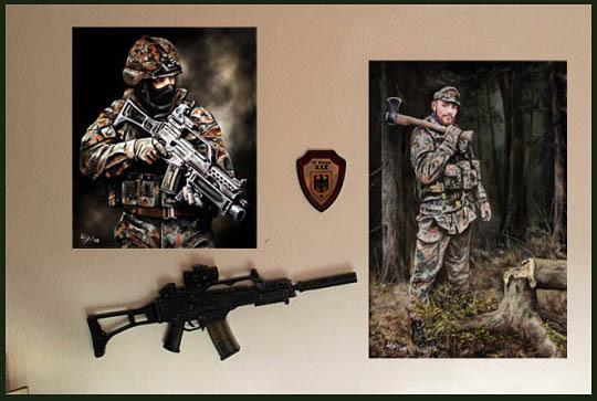 Soldat, Portrait, Militär, Bilder