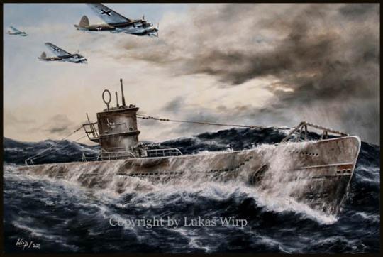 U-Boot Waffe, Heinkel HE 111, 2. Weltkrieg, Feindfahrt