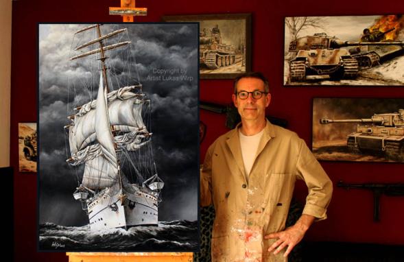 Bundeswehr Marine Bilder, Maritime Kunst Lukas Wirp