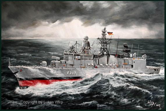 Bundeswehr Fregatte der Bremen Klasse, Marine Bilder