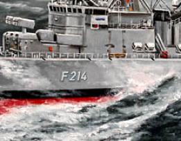 Bundeswehr Fregatte F214 Lübeck