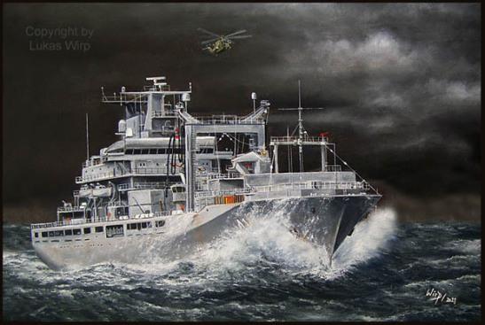 Bundeswehr Marine EGV Einsatzgruppenverorger