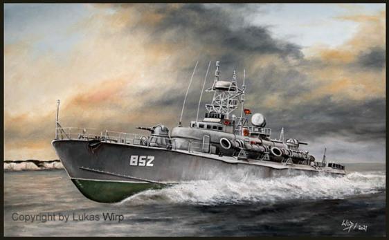 DDR Marine Torpedoschnellboot TS Projekt 206